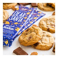 Our Dear Santa Bar is ah-mazing on its own. Now try it in a cookie🤯. $2 from the sale of each bar supports Sick Kids Foundation in Ontario to deliver better care to patients and their families💕. All the more reason to get baking!⁠