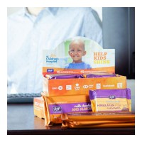 Chocolate is even tastier when you're helping children in need! 💜 Keep an eye out for our chocolates at participating BC banks and credit unions in support of BC Children's Hospital Foundation @bcchf 