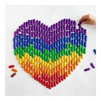 All for LOVE and love for ALL 🏳️‍🌈 Share the love with our Rainbow Mini Salted Caramels 💜💙💚💛🧡❤️ #loveislove ⁠