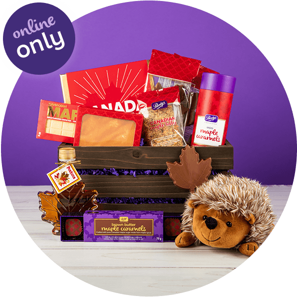 Canadian Maple Gift Basket - ONLINE ONLY