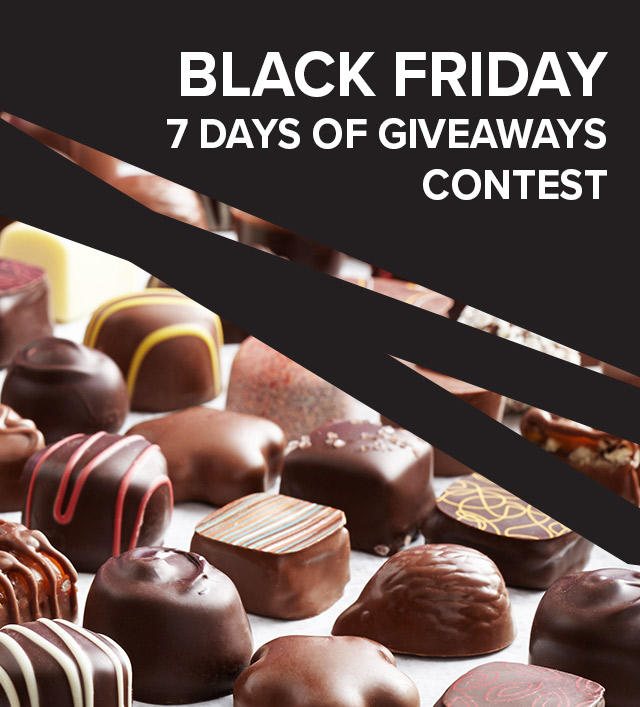 Black Friday 7 Days of Giveaways Contest